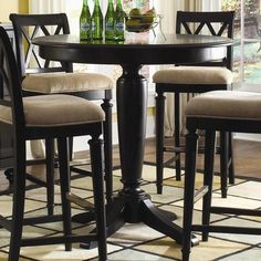 pub table and chairs counter height