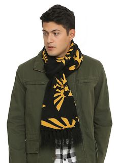 The Legend Of Zelda Triforce Scarf,