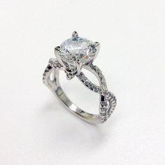 Skull Head Engagement / Wedding Ring..... love love love love..... still get the engagement ring with a lil hidden skull