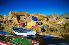 Isla de los Uros, Puno