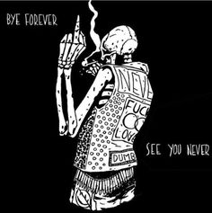 The deepest hurt. Skeleton Drawings, Skeleton Art, Arte Punk, Dark Drawings, Skull Wallpaper, Dark Thoughts, Goth Art, Sad Art, Pics Art