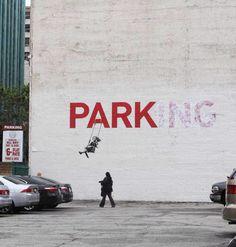BANKSY ! The UNKNOWN Graffiti & Political Artitst ....XoXo