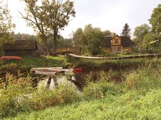 Kanufahren im Soomaa Nationalpark, Estland