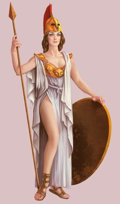 Portal Mitológico: Atena