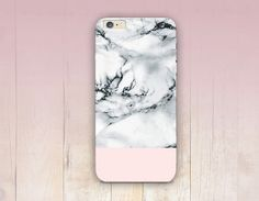 White Marble Print Phone Case iPhone 6 Case iPhone 5 by CRCases