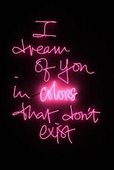 neon letters | Tumblr