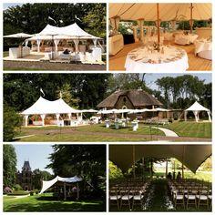 Bruiloft in een tent van Tentsolutions