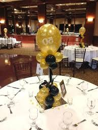 Image Result For Centerpiece Idea To Hold Down Balloons 50th Birthday Decorations