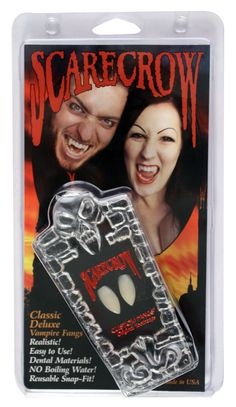 Classic Deluxe Scary Vampire Fangs