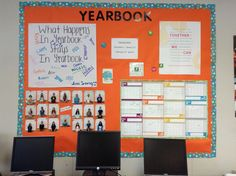 Great way to assign people their tasks. Which news or magazine column they'll write about for the month. Yearbook Shirts, Yearbook Staff, Yearbook Ideas, Newspaper Bulletin Board, School Bulletin Boards, Senior Superlatives, Middle School Yearbook, New Classroom, Classroom Ideas
