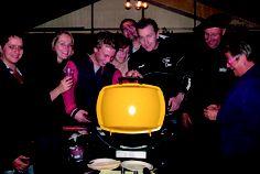 De Hemelrijkers testen zelf de nieuwe BBQ's (in de winter)! Hmmm... dat smaakt naar meer!