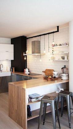 loft kitchen decoration idea