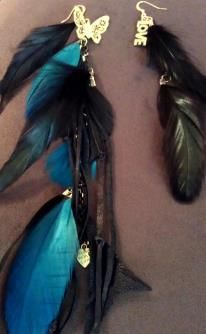 www.ilovetinagold.bigcartel.com  I know you have seen feathered jewels a lot. Ive been creating them for 5 years. I have been successful in selling them. One reason in 5 years I have NOT duplicated a single piece. That means any piece you purchase will be the only one ever.. ;)