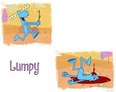 Wallpapers Cartoons > Wallpapers Happy Tree Friends Lumpy by styxlebrasseurburgon - Hebus.com