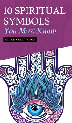Spiritual symbols are everywhere in our world! Here are 10 spiritual symbols you need to know and what they mean.