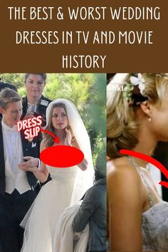 There are definitely gorgeous wedding dresses constantly flaunted upon us in some of the best movies and TV series out there. Then there are also some pretty dubious ones, the ones that make us wonder whether they purposely chose an ugly dress, or the choice was just some fashion flop. Take a look at this article and see which actresses got to wear the most beautiful dresses the never wanted to take off, and the ones who couldn't change out of their dresses fast enough.