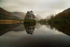 Glen Etive in Scotland
