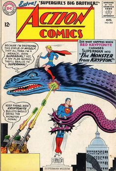 Action Comics #303    Aug. 1963 First Issue  #1 - June 1938     Last  #904 - October 2011