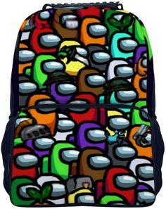 Among Us Back to school children kids backpack #amongusbackpack #amongusschoolbackpack #amonguschildrenbackpack #amonguskidsbackpack #amongusschoolbag Back To School Backpacks, Kids Backpacks, Us School, Designer Backpacks, Cool Things To Buy, Cool Stuff, Bags, Bakken, Backpacks For School