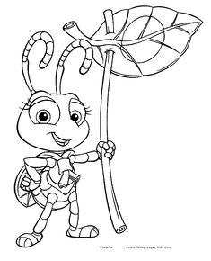 A Bug's Life coloring pages. Disney coloring pages. Coloring pages for kids. Thousands of free printable coloring pages for kids! Bug Coloring Pages, Leaf Coloring Page, Disney Coloring Pages, Printable Coloring Pages, Coloring Pages For Kids, Coloring Sheets, Coloring Books, Sketch Free, A Bug's Life