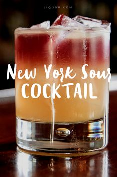 #Wine in a #whiskey #sour is your new favorite cocktail