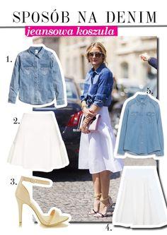 Olivia palermo jeansowa koszula Olivia Palermo, Stylish, Polyvore, Outfits, Fashion, Moda, Suits, Fashion Styles, Fashion Illustrations