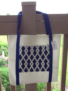 Sail bag tote webbing handles, nautical, recycled sail cloth, zip pocket, unlined, beach vacation, great for boat or travel, sailor gift by Sailknot on Etsy
