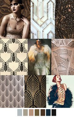 ART DECO Pattern Curator Design trends and mood board Trend Forecasting, Fashion Forecasting, Color 2017, 2017 Colors, Art Deco Colors, Motif Art Deco, Estilo Art Deco, Art Deco Stil, Art Deco Fashion