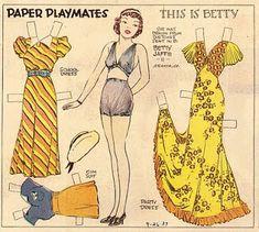 Betty - Paper Playmates
