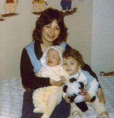 Noely mostra foto de infância de Sandy e Junior Lima (Foto: Arquivo pessoal)