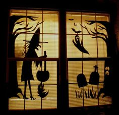 Make The Best of Things: So Cheap Halloween Fun Decor with Poster Board
