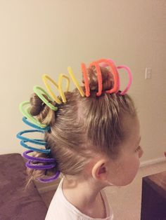 Image result for crazy hair day for girls