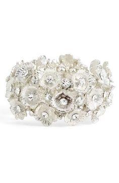 Tasha Floral Cluster Stretch Bracelet