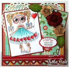 Card by Katie - Sherri Baldy Image Card