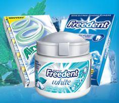 Voici votre bon de réduction de 0,50€ pour l'achat de deux packs de Freedent ou Airwaves.