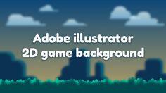 adobe illustrator 2d Game Background, Speed Art, Adobe Illustrator Tutorials, Design Tutorials, Game Art, Education, Games, Illustration, Beautiful