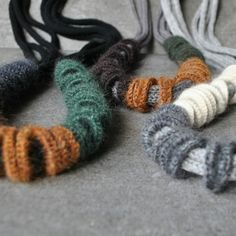 Wamu Up Cashmere Necklaces