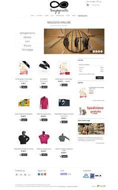 Tempopirata Negozio Online - Home page