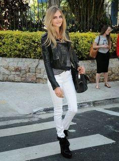 ミラロンドンスクラップBook: 《Vol.5》「 白パンツ・ホワイトジーンズ」の着こなし-コーディネイト(12スタイル♪)