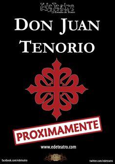 Obra teatral Don Juan Tenorio. 31 de octubre, 1 y 2 de noviembre. A las 20:00h. Precio: 12 euros.