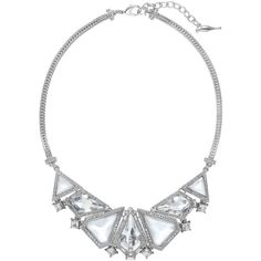 Glacial Edge Bib Necklace | Chloe + Isabel (115 CAD) ❤ liked on Polyvore featuring jewelry, necklaces, chloe isabel jewelry and bib necklace
