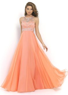 Coral Formal Dress