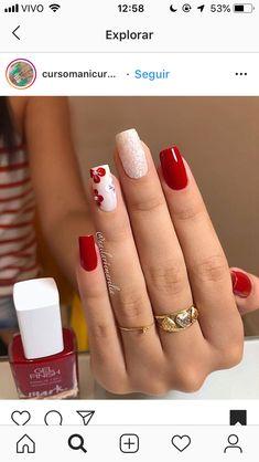 Cute Acrylic Nails, Cute Nails, My Nails, Spring Nail Art, Spring Nails, Nail Designs Toenails, Teen Nails, Stylish Nails, Hand Designs