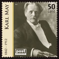 http://www.deinsuppenhuhn.blogspot.de/ Karl May Briefmarke
