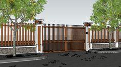 cổng rào_001 - 3D Warehouse