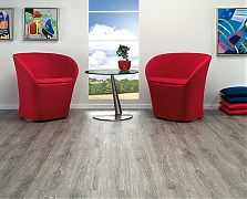 Brume Oak - A grey gradient floor gives a strong statement to your space whatever style of living and furnishing you may choose. Among the dark grey floors you'll emphasize your avant-garde taste, creating individual and expressive vibrations. Wood, Grey Flooring, Home, Hardwood Floors, Wall Covering, Flooring, Cork Flooring, Oak, Furnishings