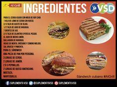 En honor al séptimo arte, en #algrill te enseñamos a preparar un sándwich cubano a la parrilla, ¡intentalo!