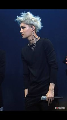 "Kai!  Love his ""mad scientist"" look in Overdose!!   -Lily.  #kai #exo"