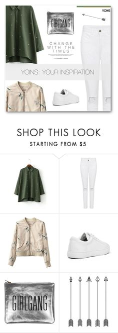"""I'm Glad I Met You, I Hope You Know That - Yoins XXIX"" by paradiselemonade ❤ liked on Polyvore featuring Sarah Baily, yoins, yoinscollection and loveyoins"