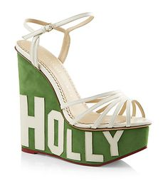 Charlotte Olympia Hollywood Wedge